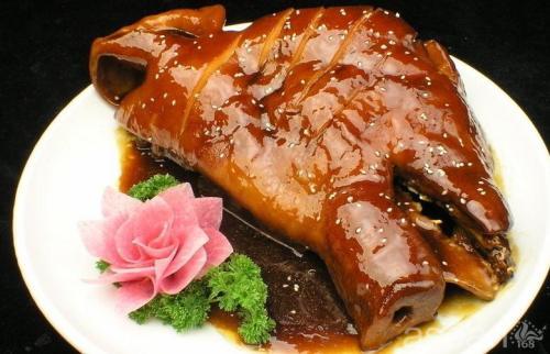 盐城步凤咸猪头肉