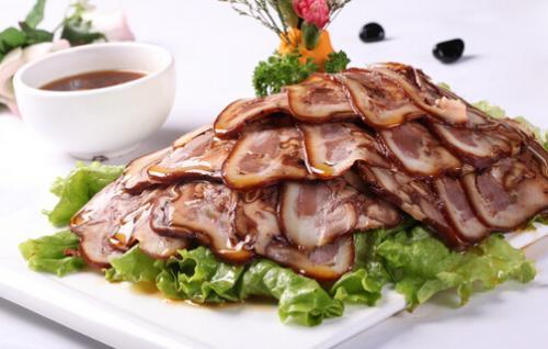 步凤咸猪头肉生产销售